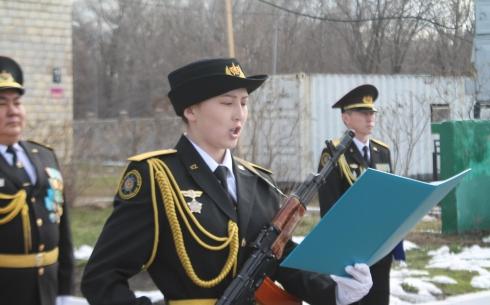 В Отделе военной полиции Карагандинского гарнизона отметили 22-летие со дня образования