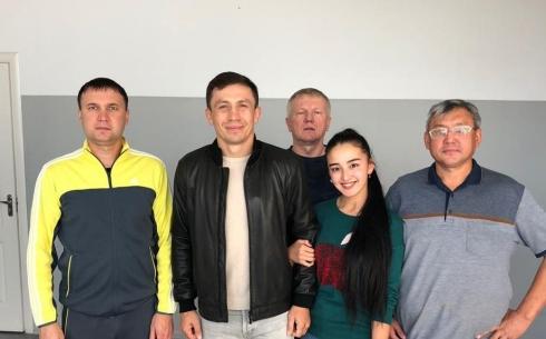 Геннадий Головкин приехал в Караганду