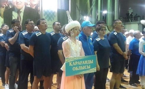 В Караганде прошла первая Спартакиада среди депутатов и сотрудников аппаратов маслихатов области, городов и районов