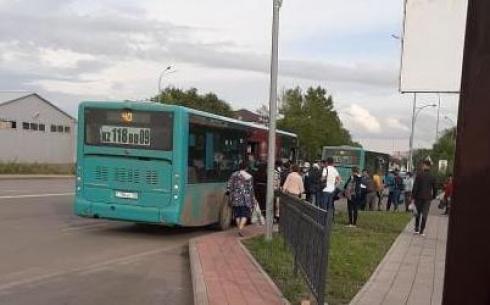 Мужчина выпал из автобуса 28 июля: в Караганде ищут свидетелей инцидента