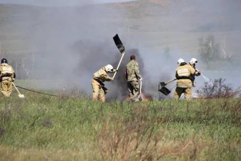 О природных загораниях предупреждает ДЧС Карагандинской области