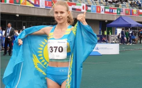 Карагандинская спортсменка принесла первую медаль сборной Казахстана на чемпионате Азии