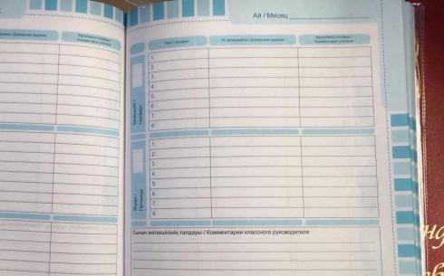 Обязательно ли карагандинским школьникам заполнять бумажные дневники