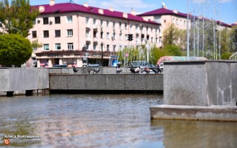 В Караганде с 1 мая начнут работать фонтаны