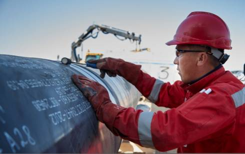 На строительство газопровода