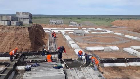 Новые социальные объекты строят в Карагандинской области