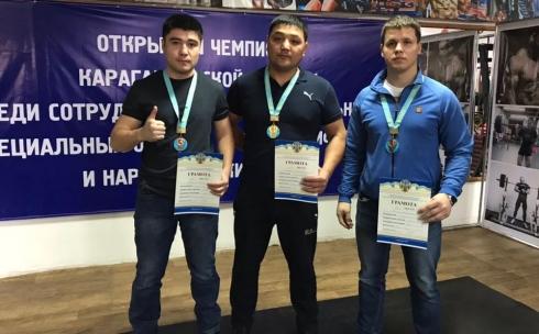 Сотрудники ДЧС Карагандинской области стали победителями областного чемпионата
