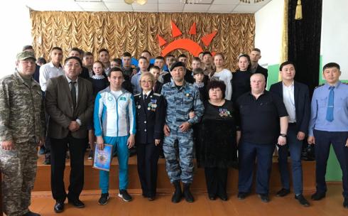 Карагандинские полицейские провели урок мужества