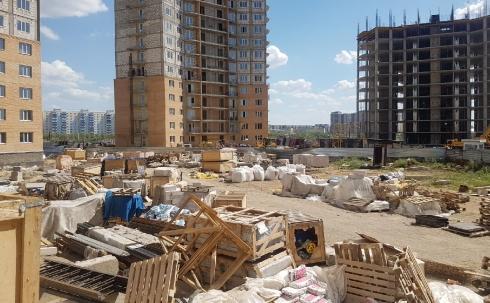 В Караганде строительство многоэтажек в ЖК