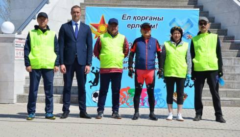 Карагандинским областным судом накануне празднования Дней Защитника Отечества и Великой Победы проведен большой спортивный праздник