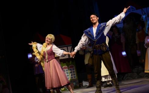 К Новому году Карагандинский театр музыкальной комедии подготовил сказку «Рапунцель»