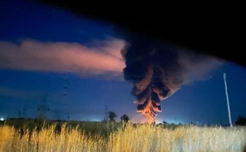 Причиной пожара на предприятии в Сортировке мог стать открытый источник огня