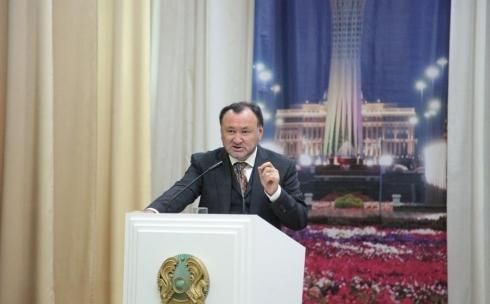 В КарГУ с лекцией выступил первый заместитель председателя партии «Нұр Отан»