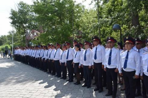 100-летие «Каркаралинской уездной милиции» отметили в Карагандинской области