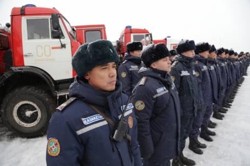 В Караганде начались Республиканские командно-штабные учения «Қыс 2019»