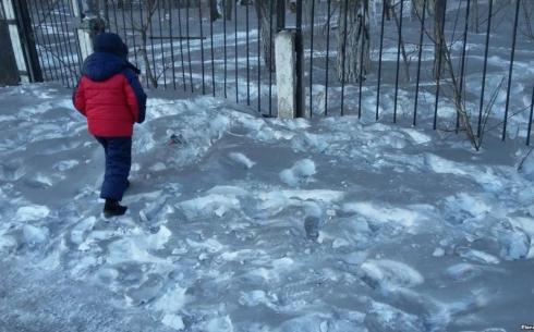 Черный снег в Темиртау: АМТ упрекнул синоптиков в неточных прогнозах