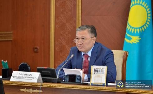 Очковтирательством и саботажем назвал работу акимов глава Карагандинской области