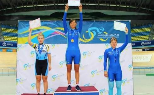 Карагандинские велогонщики завоевали 24 медали в Астане