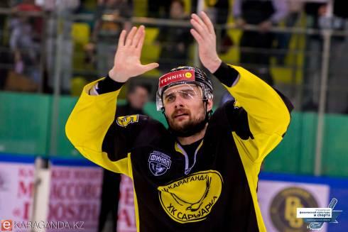 Фоторепортаж с матча финала плей-офф ВХЛ «Сарыарка» — «Рубин» 1:0
