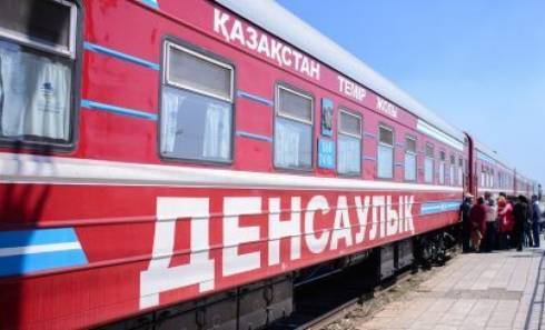 «Поезд здоровья» прибыл в Карагандинскую область