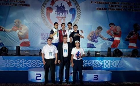 Аблайхан Жусупов завоевал золотую медаль на международном турнире по боксу