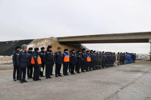 В Карагандинской области спасатели подготовились к зиме