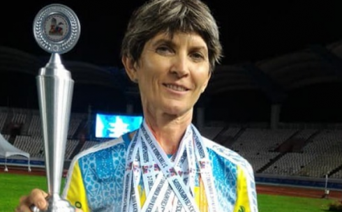 Преподаватель из Караганды признана лучшей спортсменкой на 21-ом чемпионате Азии по легкой атлетике среди ветеранов