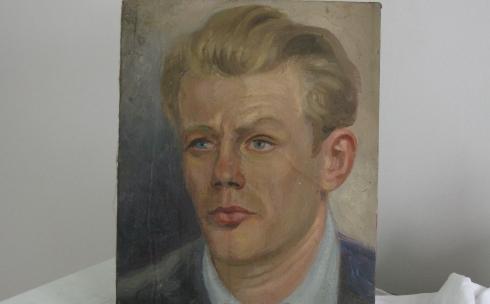 Портрет кисти учителя – о Дмитрии Крейне рассказала карагандинская художница Евгения Шульц