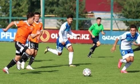 «Академия Оңтүстік» переиграла «Шахтер-Булат» в матче Первой лиги