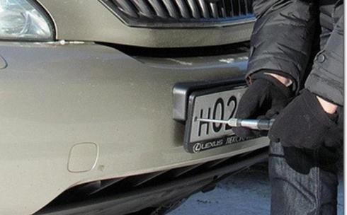 Принимаются все меры для раскрытия преступлений – Департамент полиции Карагандинской области о кражах номеров машин