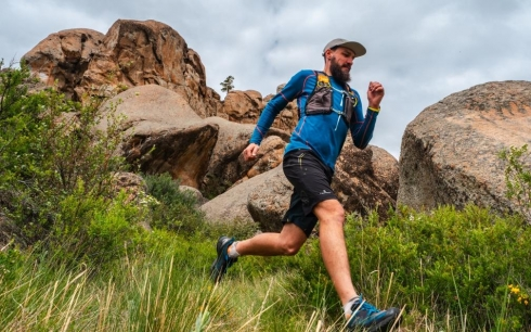 Кентские горы стали пятой площадкой забега «I run Kazakhstan»