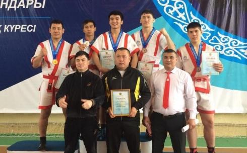 5 медалей и серебро в командном зачете по қазақ күресі