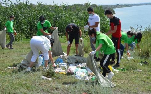 На Федоровском водохранилище провели экологическую акцию