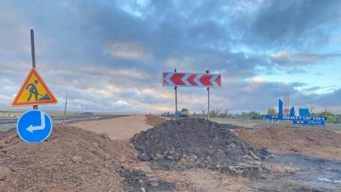 Дороги Нуринского района охватили ремонтными работами