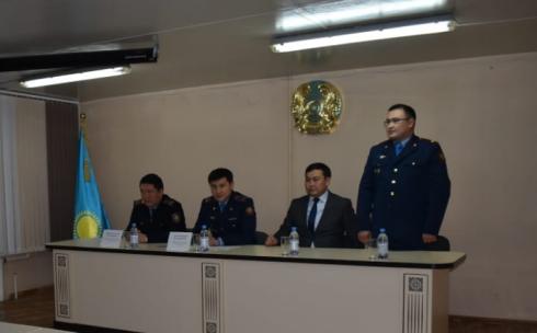 Начальником Юго-Восточного отдела полиции УП города Караганды назначен подполковник Азамат Аткеев