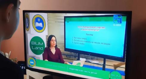 Асхат Аймагамбетов провел онлайн-встречу с создателями телеуроков