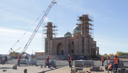 Новую мечеть строят в посёлке Жайрем