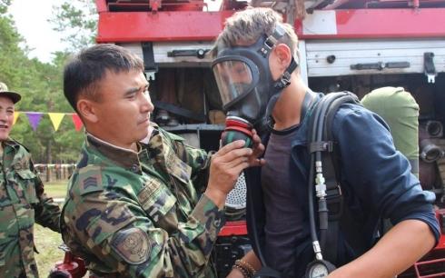 Спасатели Карагандинской области обучили 230 волонтеров