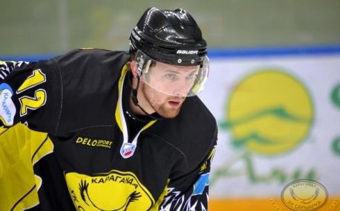 Сергей Елизаров забил пятисотую шайбу «Сарыарки» в ВХЛ