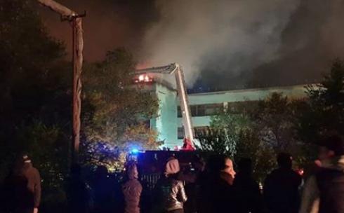 В Караганде ремонт школы после пожара займет около 10 дней