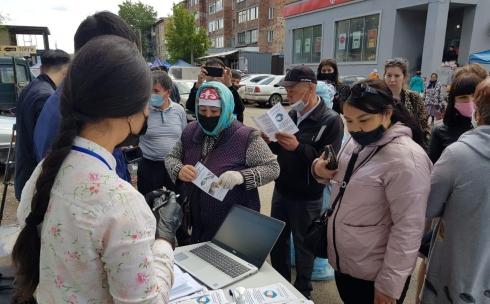 Ярмарка вакансий для безработных прошла в Караганде