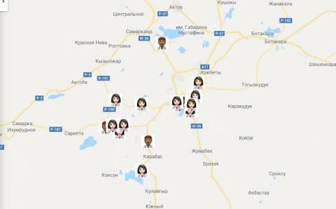 В Карагандинской области создали интерактивную карту с данными врачей