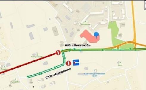 В Майкудуке снова перекрыли участок улицы К.Маркса