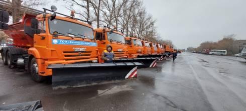 Акиму Караганды доложили о ходе подготовке предприятий по уборке улиц к предстоящему зимнему сезону