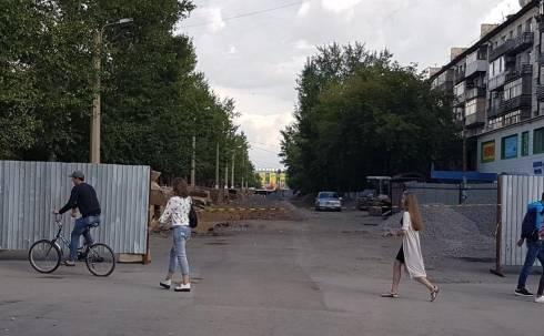 В Караганде закрыт для движения перекресток улицы Язева и проспекта Строителей