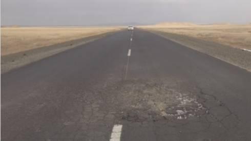 Новый асфальт в Карагандинской области не продержался и одного сезона