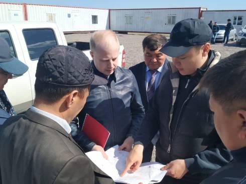 Строительство солнечной электростанции в Шетском районе завершится в июне