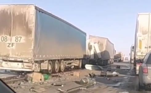 На трассе «Караганда-Нур-Султан» произошло ещё одно ДТП со смертельным исходом