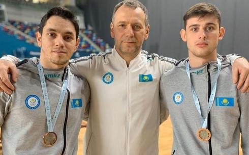 Бронзовая медаль на кубке мира по батутной гимнастике приблизила карагандинского спортсмена к участию в Олимпиаде-2020