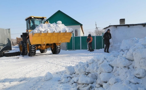 В Караганде от снега очистят подверженные подтоплению улицы частного сектора